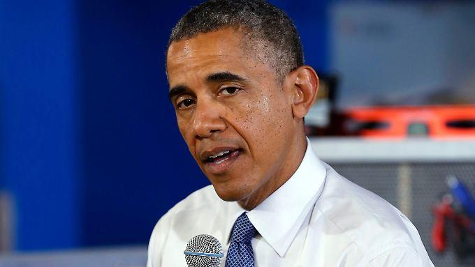 Obama will nur noch sauberen Fisch auf den Tisch.