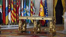 Thronverzicht per Gesetz: Juan Carlos gibt spanische Krone weiter