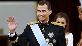 Thronwechsel in Spanien: Felipe VI. legt Eid als König ab