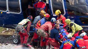 Verletzt in Riesending-Schachthöhle: Höhlenforscher Westhauser aus der Tiefe gerettet