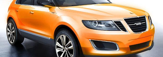 Ein SUV von Saab: Dem Modell wird eine entscheidende Rolle im Überlebenskampf zukommen.