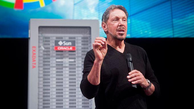 Oracle-Chef Larry Ellison erweitert das Firmen-Portfolio.