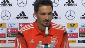 Vor dem Spiel gegen die USA: Pressekonferenz zur DFB-Taktik mit Hummels und Flick, Teil 1