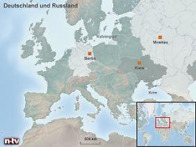 Erdgas-Lieferant im Osten: Russland will nun auch bei der Energiewende mit Atomstrom aushelfen.