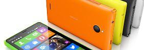 Günstiges Android-Smartphone: Microsoft stellt Nokia X2 vor