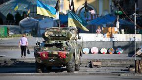 Brüchige Waffenruhe in Ukraine: Putin setzt Zeichen der Entspannung