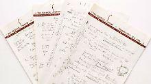 """Like a Rolling Stone"" versteigert: Bieter stürzen sich auf Dylan-Manuskript"