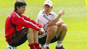 Löw gegen Klinsmann: Einst ein Team, jetzt WM-Gegner