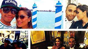 Promi-News des Tages: Lewis Hamilton zeigt sich schwer verliebt in Venedig