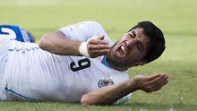 """""""Beweismittel jeder Art"""": Bis zu zwei Jahre Sperre für Suárez"""