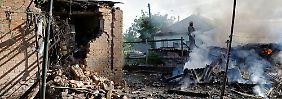 """""""Antiterror-Operation"""" geht weiter: Ukrainische Armee greift Separatisten an"""