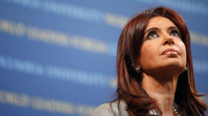 Argentiniens Präsidentin Cristina Fernández de Kirchner.