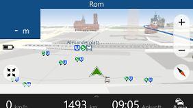 Windows-Phone-Nutzer bekommen Nokias HERE Drive+ kostenlos.