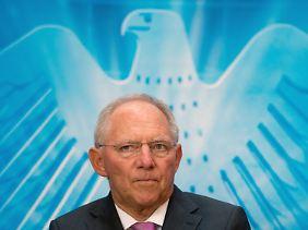 In Sachen Steuern unnachgiebig: Wolfgang Schäuble.