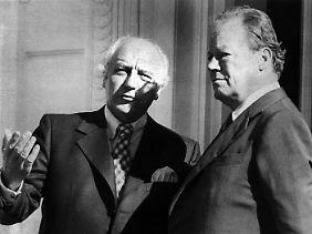 Außenminister unter Bundeskanzler Willy Brandt.
