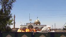 Bulldozer gegen Moscheen: Extremisten zerstören Iraks Kultur