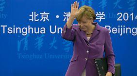 Merkels China-Besuch erfolgreich: Wirtschaftsabkommen in Milliardenhöhe unterzeichnet