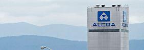 Neue Strategie greift: Alcoa dreht wieder ins Plus