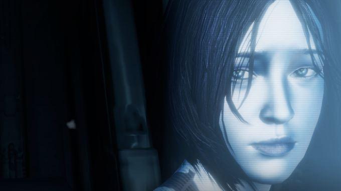 Cortana ist eigentlich die künstliche Intelligenz, die dem Master Chief in der Spieleserie Halo zur Seite steht.