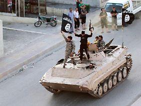 Militärischen Erfolge machen IS attraktiv für potenzielle Dschihadisten.