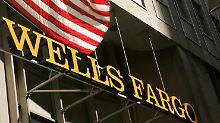 Wells Fargo liefert irgendwie: Dow schleicht an die 17.000