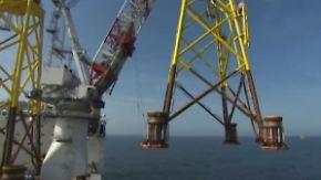 Wie ein Offshore- Windpark entsteht: Leben auf einer Baustelle mitten in der Nordsee