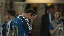 Weltfußballer des Jahres, Spieler der WM, für Messi war das alles egal.