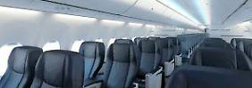In der Holzklasse wird es eng: Boeing verringert Sitzabstände