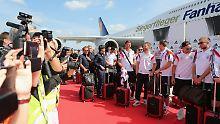 """""""Fanhansa Siegerflieger"""": Lufthansa feiert die Nationalmannschaft"""