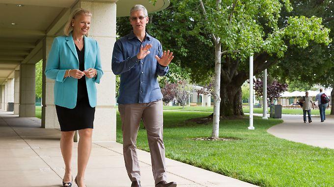 Firmenkunden als neue Käufergruppe: Apple und IBM werden Partner