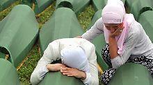 Blauhelme taten nichts: Niederlande für Srebrenica mitverantwortlich