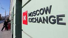 Kurseinbruch und Rubel-Schwäche: Russischer Markt ächzt unter Sanktionen