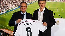 """""""Heute ist ein glücklicher Tag"""": Kroos wird bei Real Madrid gefeiert"""