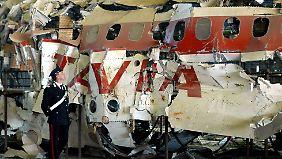 Die über dem Mittelmeer abgeschossene Itavia-Maschine wurde rekonstruiert, um die Hintergründe des Absturzes aufzuklären.