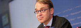 Ende der Niedrigzinspolitk?: Weidmann spricht von höheren Zinsen