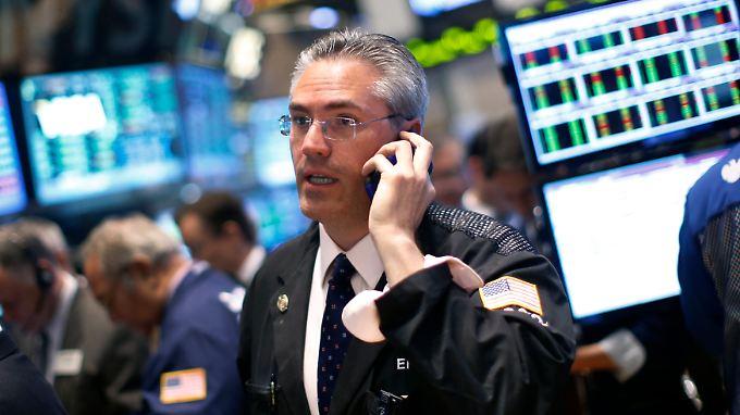 Viel los ist auch in dieser Woche wieder an der Wall Street: Die Berichtssaison ist in vollem Gang.