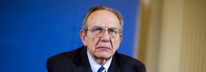 Sanktionen könnten das Wachstum gefährden: Pier Carlo Padoan sieht ein ein Problem für alle Seiten.