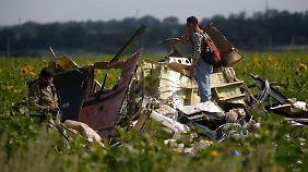 Opfer können identifiziert werden: Separatisten übergeben MH17-Blackbox