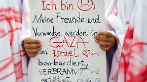 Parolen gegen Israel: Gaza-Konflikt schürt Judenhass auf deutschen Straßen