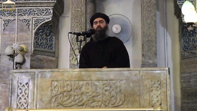 Er bestimmt, was die IS im Irak anrichtet: Abu Bakr al-Baghdadi.