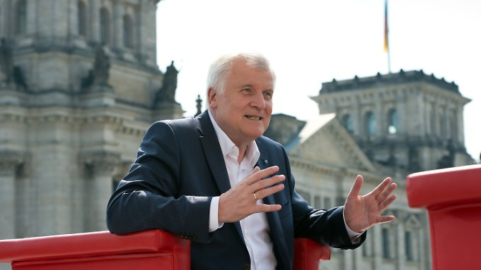 Horst Seehofer will Waffenexporte nicht zu streng handhaben.