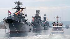 ... wird der Osten der Ukraine nicht Russland zufallen.