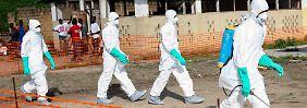 """Ebola nicht zu stoppen: Liberia rüstet sich für """"nationalen Notfall"""""""