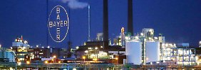Neue Medikamente schlagen an: Bayer bleibt weiter auf Kurs
