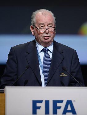 Julio Grondona war Präsident des argentinischen Fußballverbandes sowie Vizepräsident der Fifa.