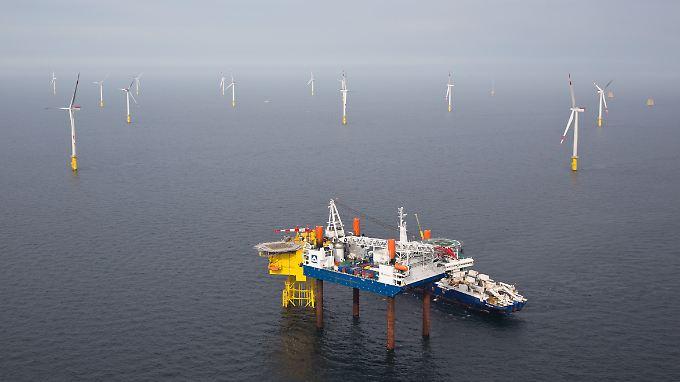 Die verspätete Anbindung von Windparks in der Nordsee an das Stromnetz belastete das Siemens-Ergebnis.