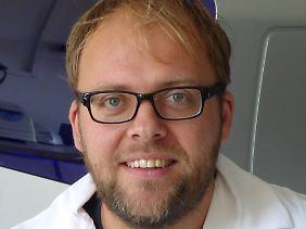 Carsten Nowak, Leiter des Fachgebiets Naturschutzgenetik des Senckenberg-Instituts.