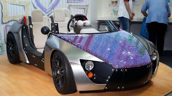 Toyota Camatte57s Sport concept Car: So sportlich stellt sich der japanische Autoriese die automobile Zukunft vor.