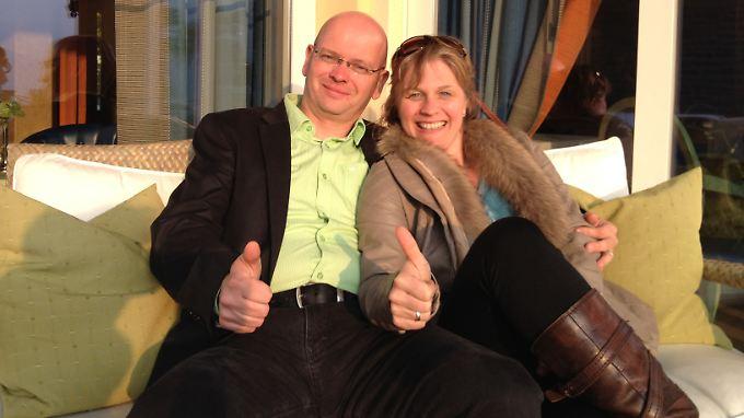 Privat und beruflich ein gutes Team: Susanne Wendel und Frank-Thomas Heidrich nach der Gründung ihrer gemeinsamen GmbH.