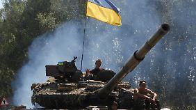 Die ukrainische Armee bereitet die Rückeroberung von Donezk vor.